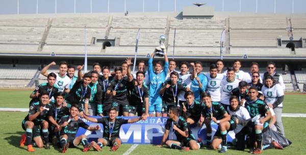 Santos Sub-17 campeón