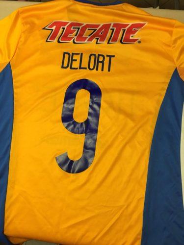 Delort fue el número 9 con Tigres