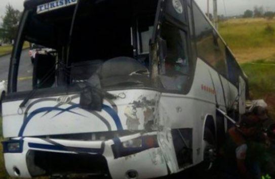 Accidente que sufre Rayados