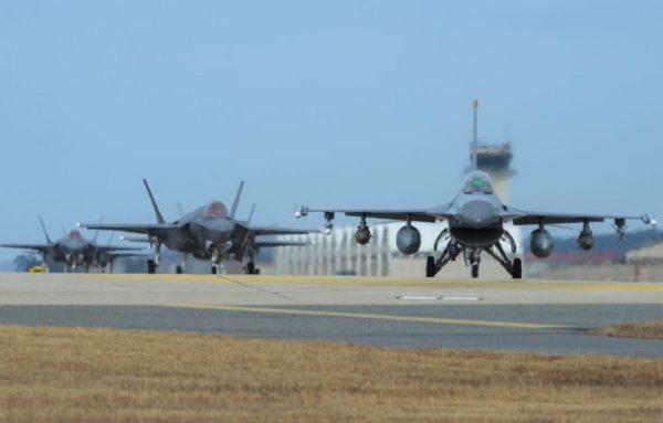 EU y Corea del Sur inician ejercicio aéreo conjunto Fuerza-Aerea-USA-610x389-600x383
