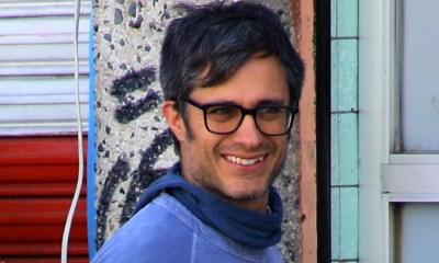 Gael García graba en Xochimilco, Chicuarotes, Charolastras, Diego Luna, Gael García, Actor, Productor