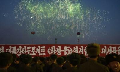 Corea del Norte celebró que se convirtió en un Estado Nuclear