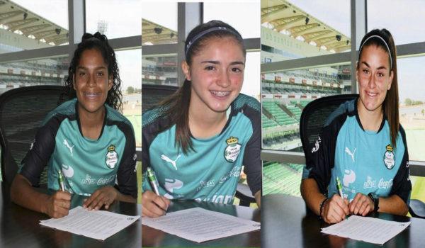 Zepeda, Delgado y Montoya nuevas jugadoras
