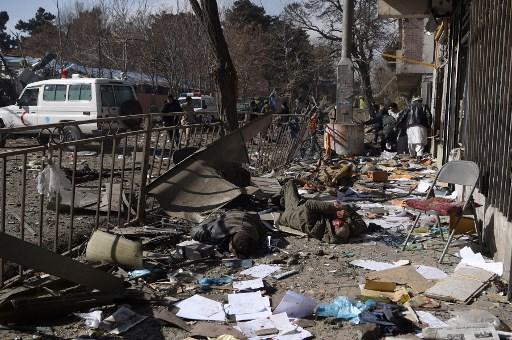 Al menos 95 muertos deja un atentado en Kabul 000_Y03PQ