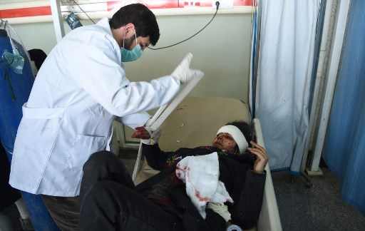 Al menos 95 muertos deja un atentado en Kabul 000_Y059Y