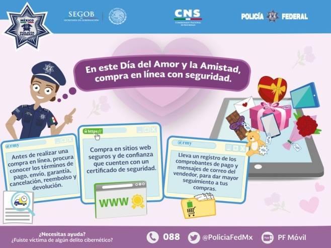 Operativos para los románticos, Profeco alista recomendaciones y operativo por el Día del Amor y la Amistad DVh6xtjU0AAZsq1