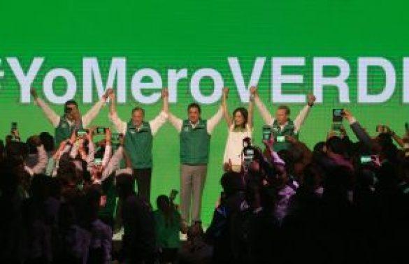 José Antonio Meade rinde protesta para el PVEM como candidato para la presidencia de México Meade_Toma_Protesta_Verde-5