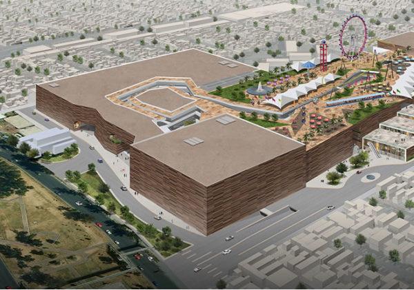 Kataplum el nuevo parque de diversiones arriba de un centro comercial ¡De locura! antenas-600x421