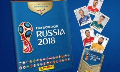 álbum del Mundial de Rusia 2018