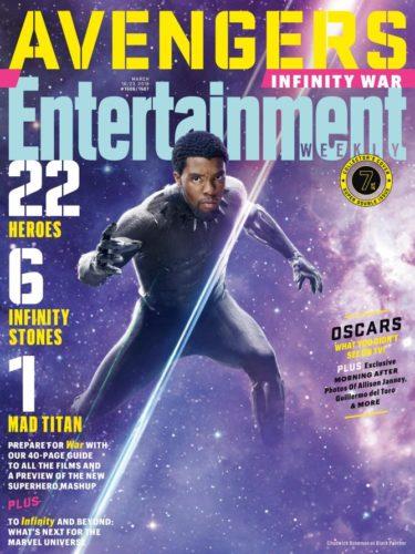 """Lanzan nuevas imágenes de """"Avengers: Infinity War"""" a menos de 50 días de su estreno ew1506_black-panther_9268923923232-375x500"""