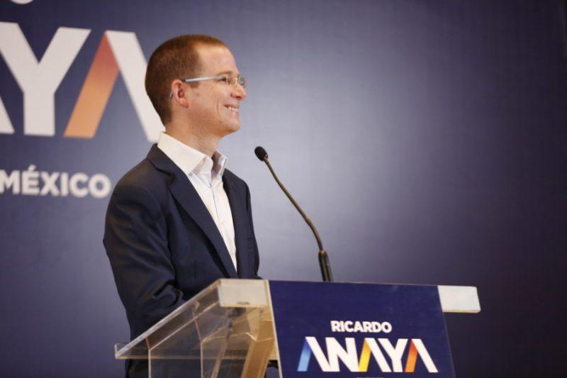 Ricardo Anaya presenta 4 propuestas contra la corrupción en México ANL8884