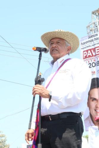 AMLO asegura consultar su expediente del CISEN que en caso ganar Santiago-Ixcuintla-Nayarit-e1523562301967-683x1024-333x500