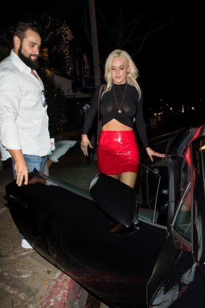 """Lana de la WWE se pasó de """"transparente"""" en plena calle The_Grosby_Group_GRG1936284"""