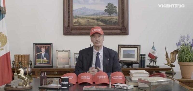 Vicente Fox es nominado por los mejores vídeos contra Trump VicenteF