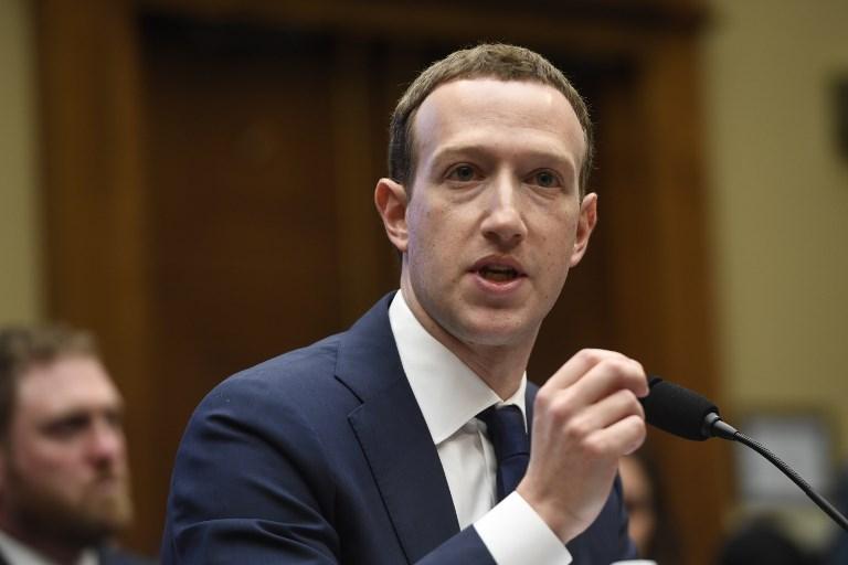 Zuckerberg asegura que ''regular las redes sociales es inevitable'' Zuckerberg