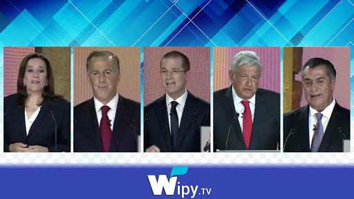 AMLO en el primer debate presidencial 2018 destacada