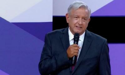 AMLO en el segundo debate presidencial, AMLO, López Obrador, Elecciones2018, segundo debate presidencial, segundo debate INE