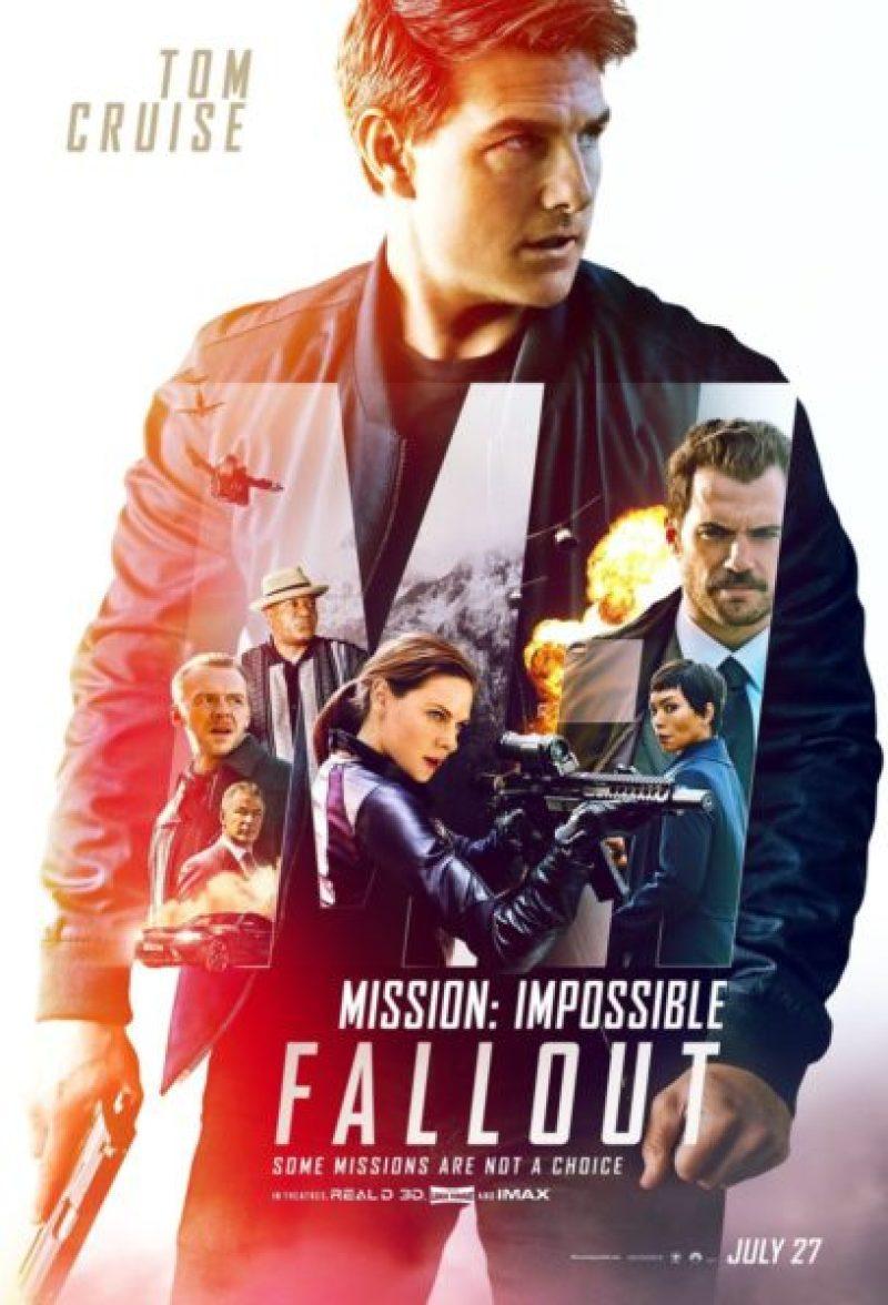 """Presentan el nuevo tráiler de """"Mission: Impossible-Fallout"""" Poster"""