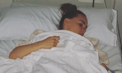 Belinda fue hospitalizada, Belinda