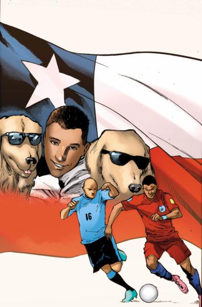 ¿Las estrellas del futbol son superhéroes? Crean cómic del mundial 0801