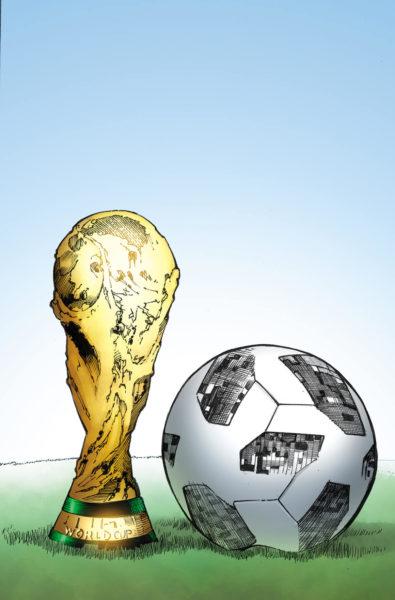 ¿Las estrellas del futbol son superhéroes? Crean cómic del mundial 1406