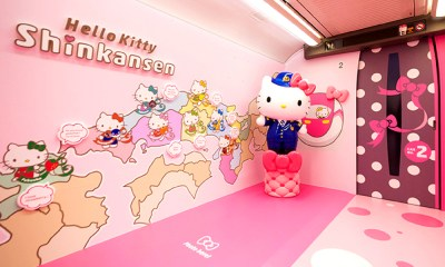 Hello Kitty dio su primer recorrido