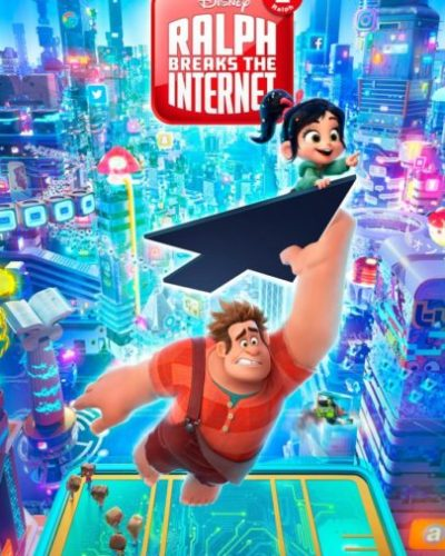 """Princesas de Disney, redes sociales y Daft Punk en el nuevo trailer de """"Wifi Ralph"""" ralph2poster2-691x1024-337x500"""