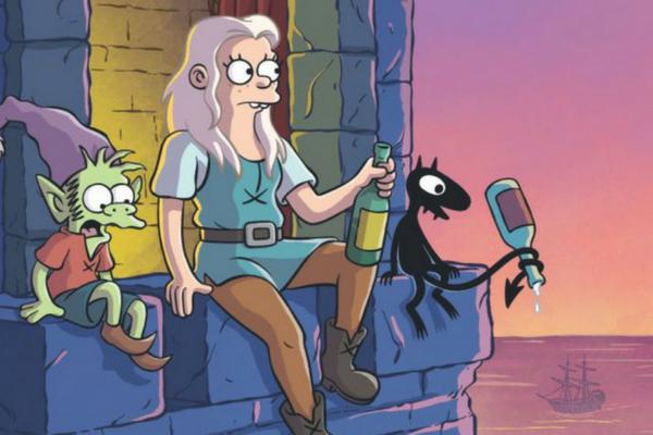 El regreso de Matt Groening: nuevo trailer de 'Disenchantment' nuevo-trailer-de-Disenchantment-2
