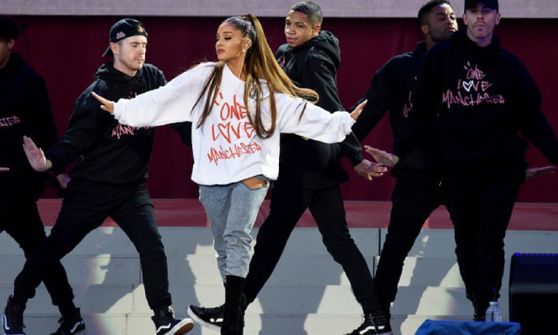 ¿Qué planea Ariana Grande con 'Stranger Things'? Ariana-Grande-Manchester-Arena