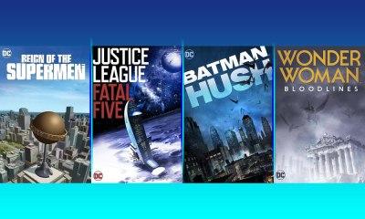 películas animadas de DC Comics para 2019