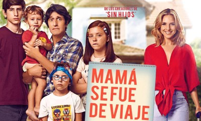 'Mamá se fue de viaje' una película para toda la familia