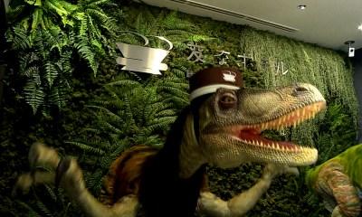 hotel de dinosaurios robot