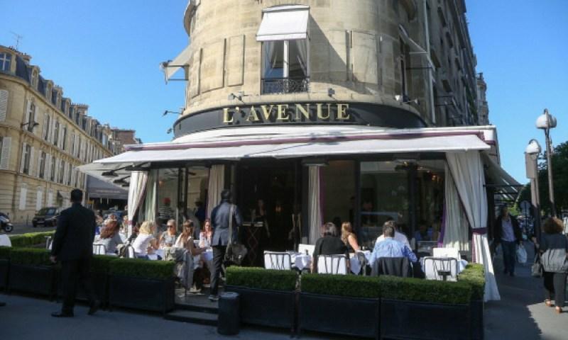 Famosos que frecuentan el restaurante que visitó Angélica Rivera en París LAvenue