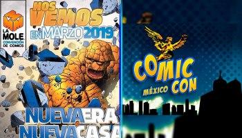 'La Mole' y 'Comic Con México'