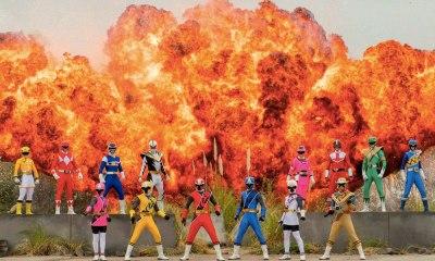 Power Rangers cumplen 25 años