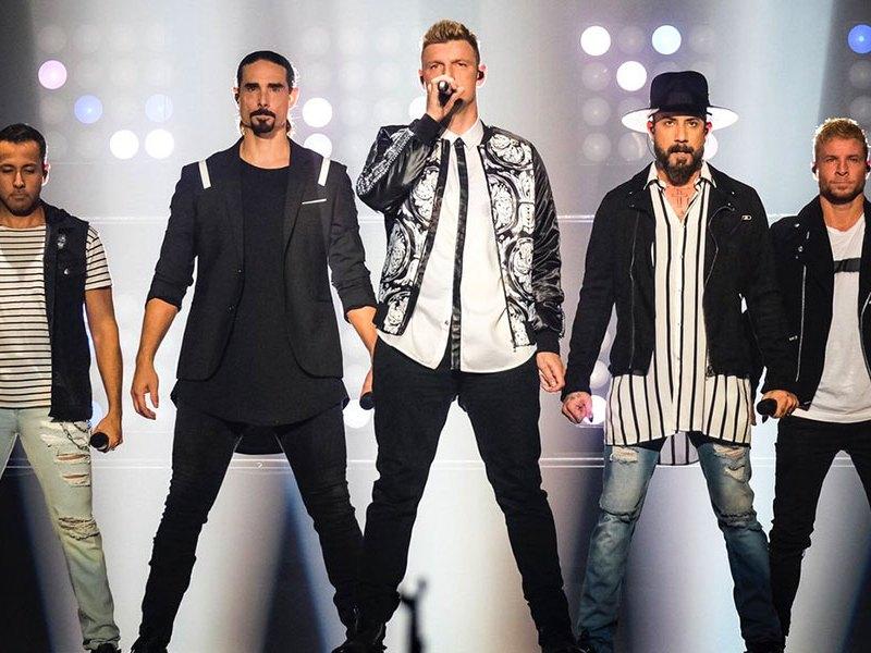 Show de los Backstreet Boys