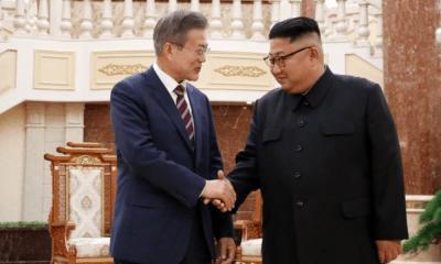 Kim Jong-un y Moon Jae