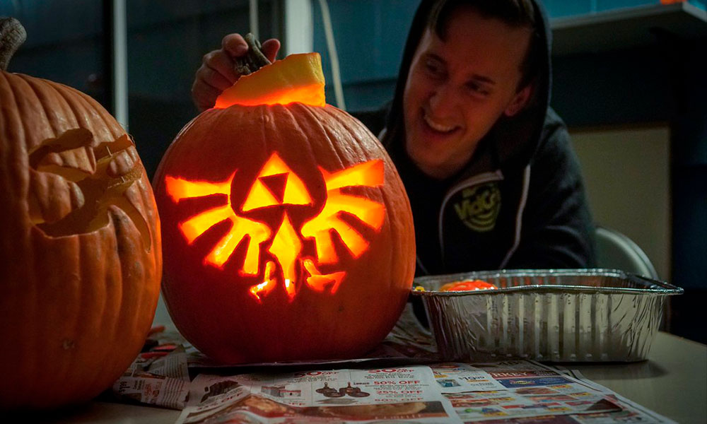Se inspiran en videojuegos para crear novedosas calabazas Calabazas-Halloween-00