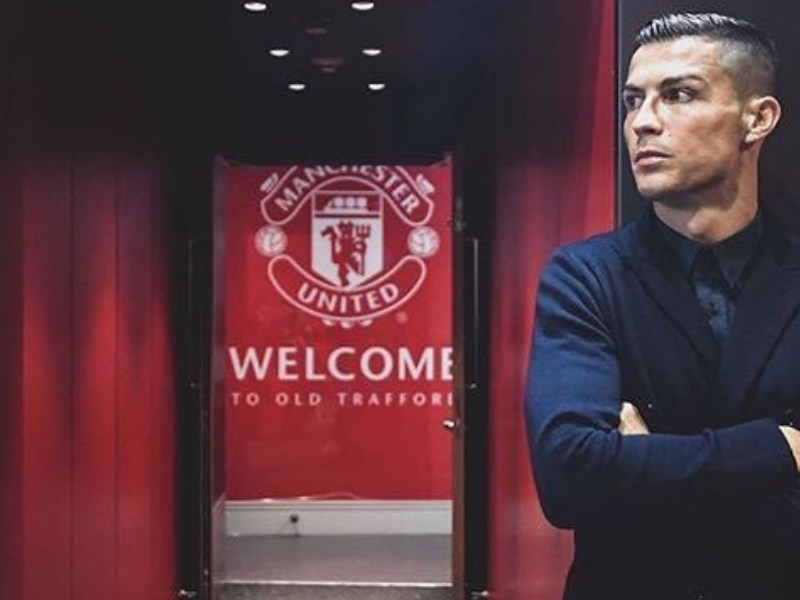 Cristiano Ronaldo lució reloj valuado