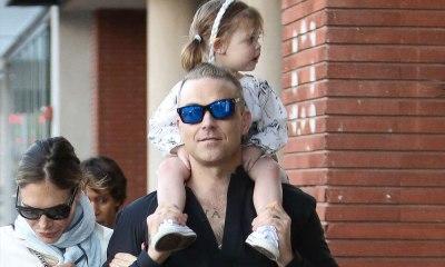 Hija de Robbie Williams es dama de honor