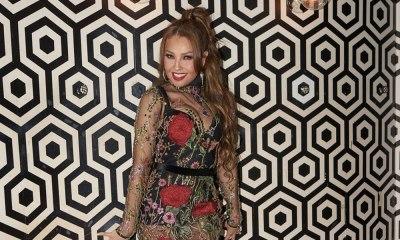detienen a Thalía en Nueva York