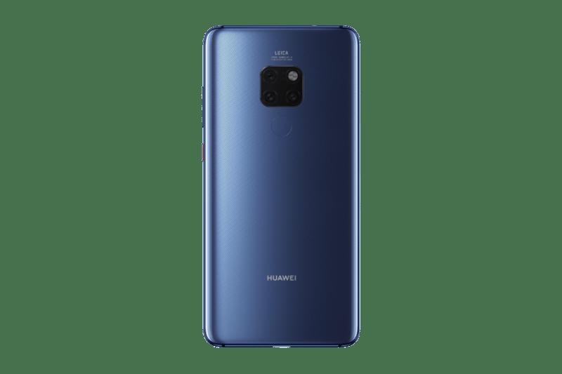 Huawei Mate 20 Pro llegó a México: un teléfono con inteligencia superior Blue_Rear