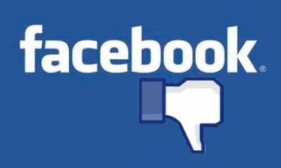 Facebook cae de nuevo