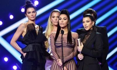 Kim Kardashian en los People Choice Awards