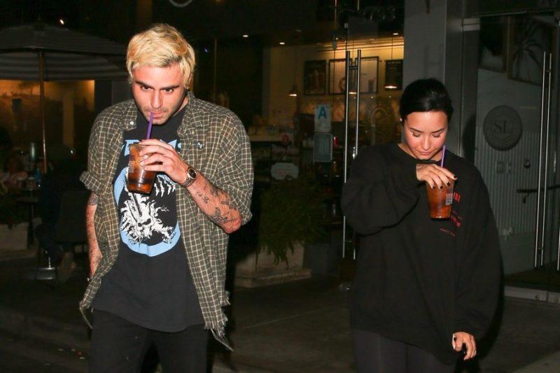 Demi Lovato abandonó la clínica de rehabilitación y podría tener nuevo novio The_Grosby_Group_GRG2084990