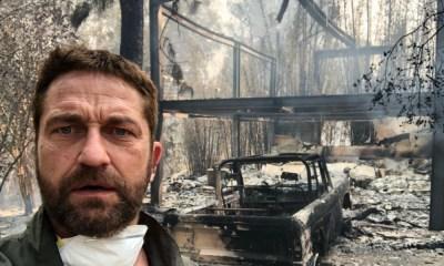 Actores perdieron sus casas en los incendios