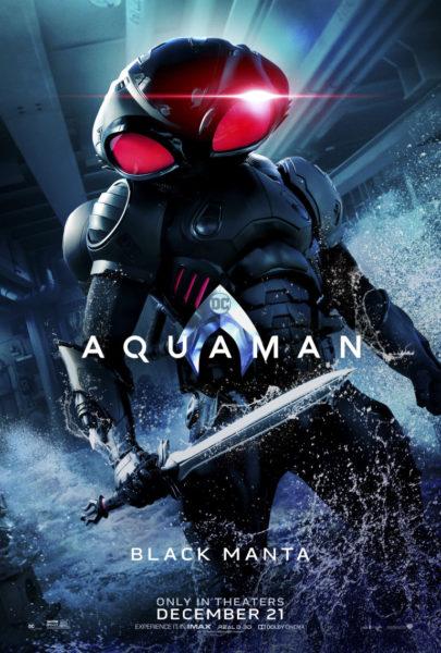 Llegan desde el mar los nuevos pósters de 'Aquaman' aqamn_vert_blackmanta_dom_2764x4096_master