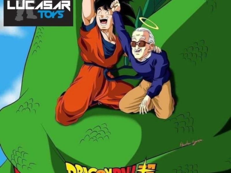 ¡Akira Toriyama homenajeó a Stan Lee con caricatura de 'Dragon Ball'! facebook-viral-dragon-ball-super-stan-lee-1542222512-541x500