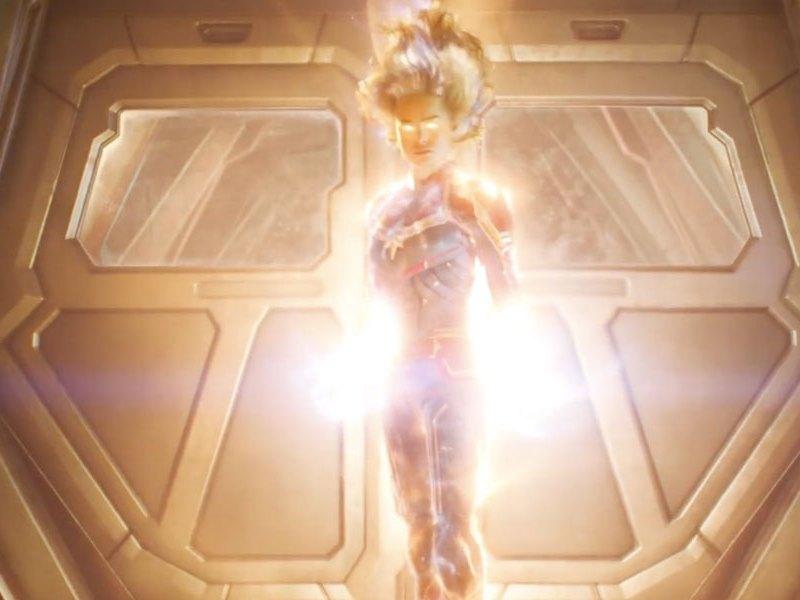 nuevo trailer de 'Captain Marvel'