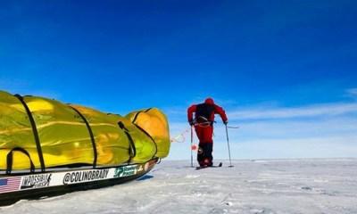 primer hombre en cruzar a pie la Antártida